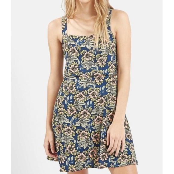 Topshop Dresses & Skirts - Topshop daisy print overlay dress